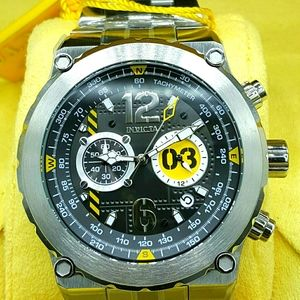 FIRM PRICE-ON SALE-INVICTA AVIATOR STAINLESS WATCH